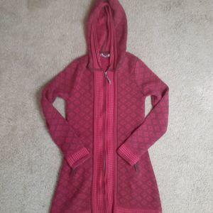 Athleta Sweater Jacket w/Hood